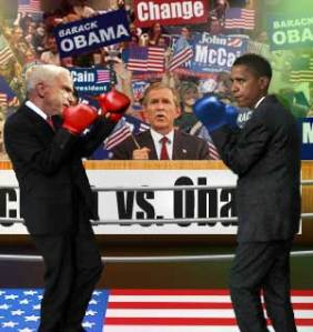 I think it was this debate where they discussed Joe the Plumber