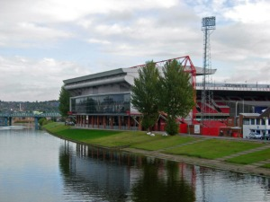 Are those Christmas trees by the City Ground? Let's assume they are. Merry Christmas Sean!