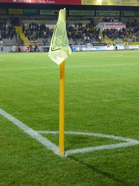 I'm stood by the metaphorical corner flag, preparing to submit my words into the goalmouth.