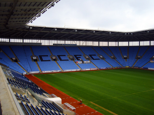 This stadium was as packed during the summer as it will be during Coventry's matches.