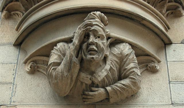 Do you ever have one of those hangovers where your head feels like it's turned to stone?