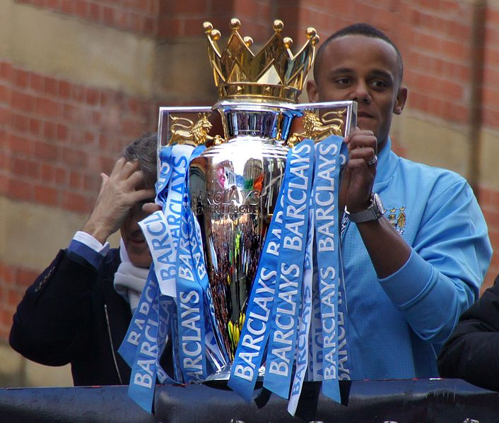Vincent Kompany 2012 champion