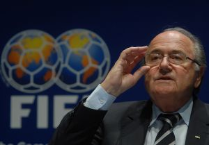 2014_FIFA_Announcement_(Joseph_Blatter)_6 by Marcello Casal Jr.                Taken from Wikimedia Commons