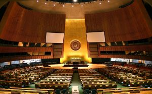 UN_General_Assembly_hall by Patrick Gruban       Taken from Wikimedia Commons