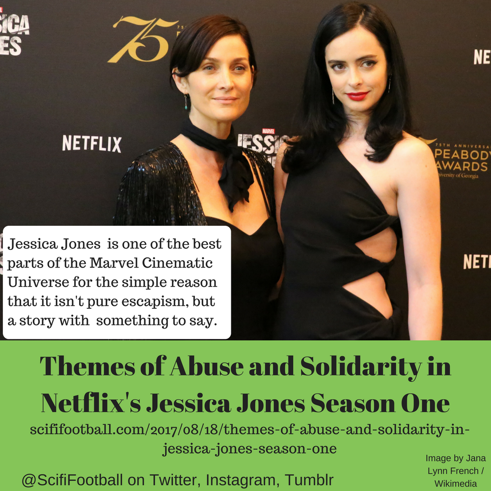 Themes of Abuse and Solidarity in Netflix's Jessica Jones Season One