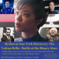 Mythos in Star Trek Discovery: The Vulcan Hello and Battle at the Binary Stars