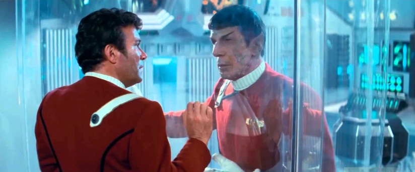Star Trek II Kirk and Spock