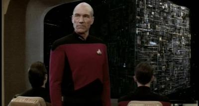 Star Trek TNG S3E26 The Best of Both Worlds