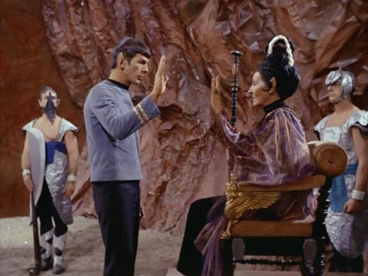 Star Trek TOS S2E01 Amok Time screencap