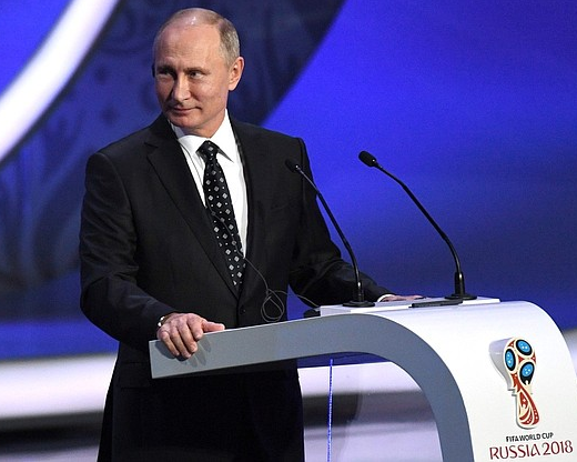 Vladimir Putin via Kremlin.ru