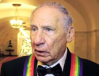 Mel Brooks at the White House for the 2009 Kennedy Center Honors by US Federal Government