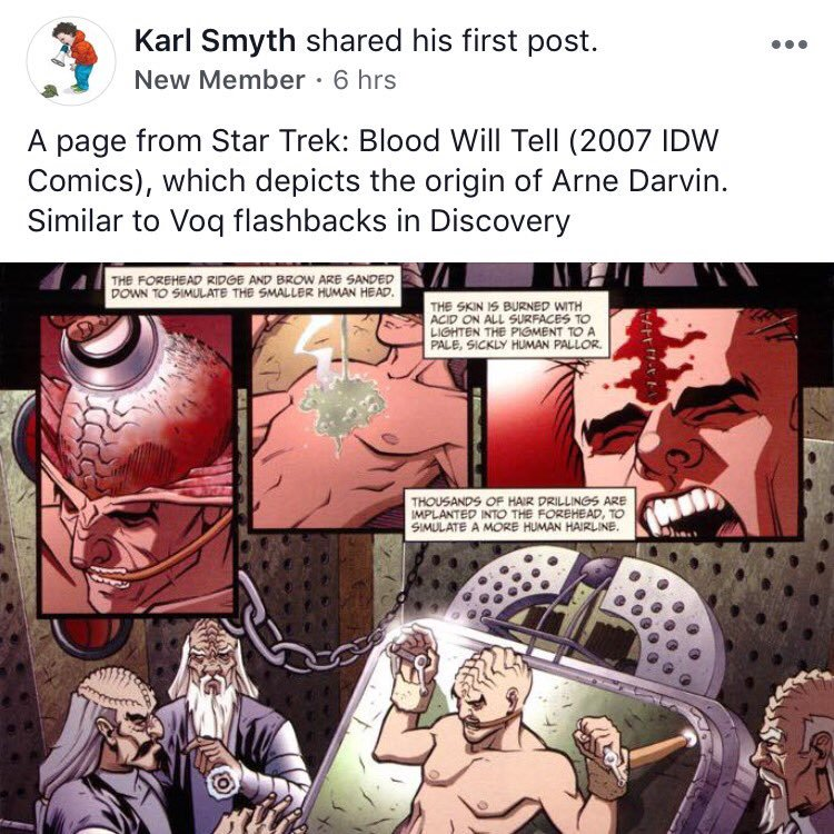 Star Trek Blood Will Tell