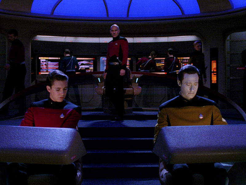 Star Trek TNG S3E15 Yesterdays Enterprise